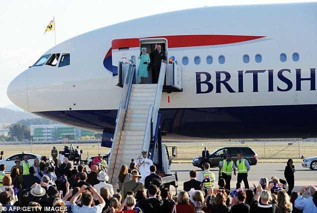 Queen Elizabeth Flight