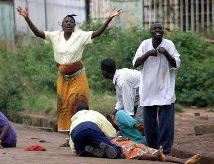 Sorrow weeping ordinary people Nigeria