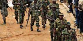 Baga massacre soldiers