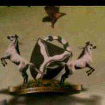 Crumbling Coat of Arms nigeria