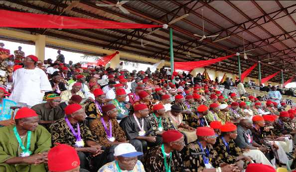 Igbo Day Red Cap Chiefs