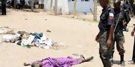 Nigerian Police Army Killing 1