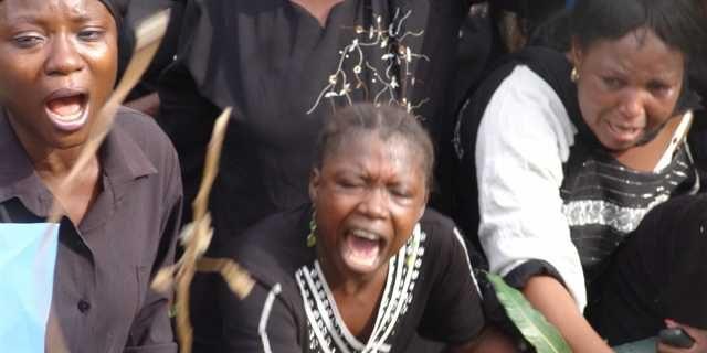 Weeping Women from Jos