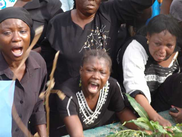 Weeping Women from Jos