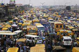 Lagos Bus Traffic