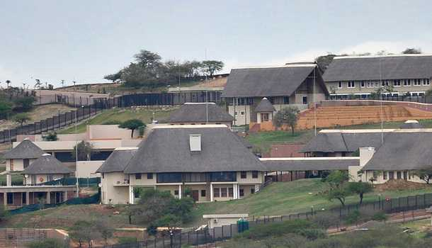 Thieving Africans Estate Zuma