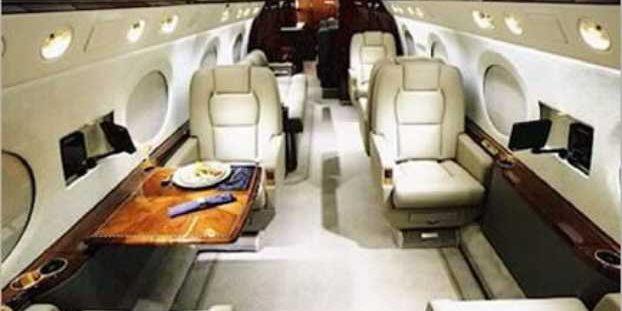 Thieving Africans Jet Museveni
