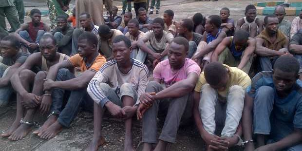boko haram Suspects Lagos