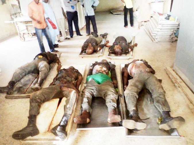 policemen killed and burnt by the militiamen in nasarawa 0