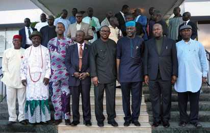 South-East-South-South-Govs