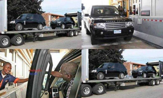 Fashola Bullet Proof Cars
