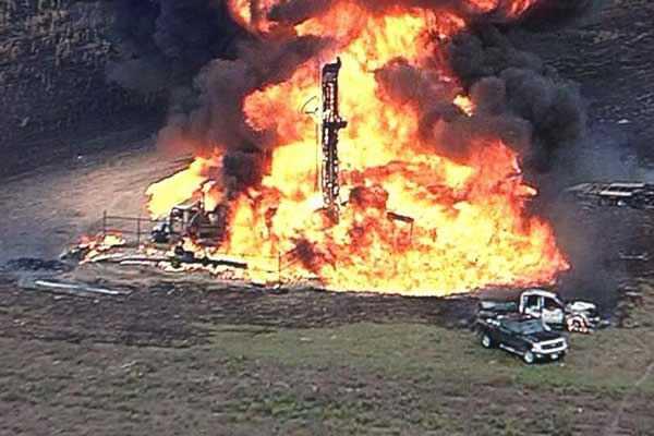 Pipeline-explosion