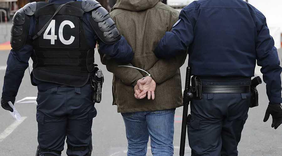 Arrested Terrprist in France