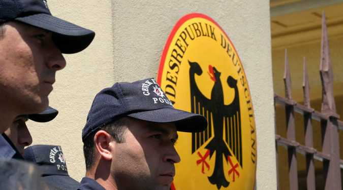German Embassy in Turkey
