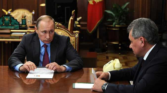 Putin orders military withdawal