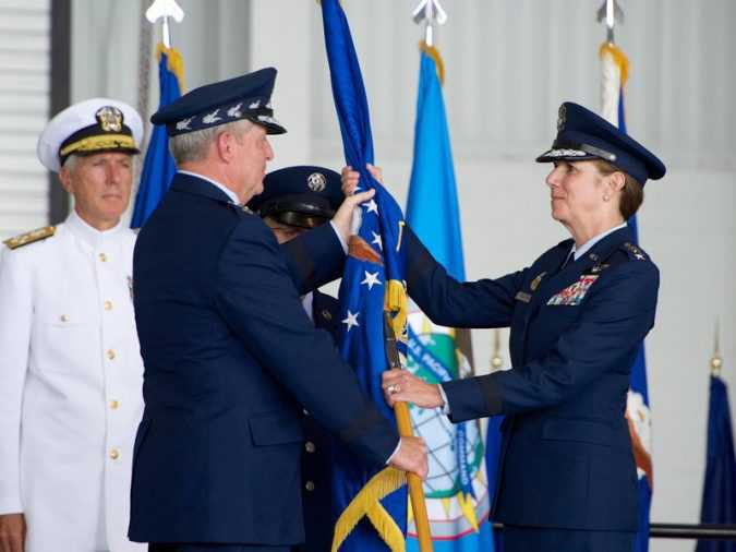 US Air Force General Lori Robinson Recieved honour