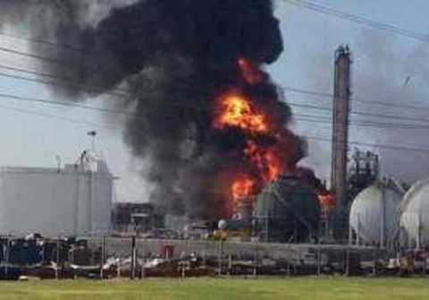 Chevron burns