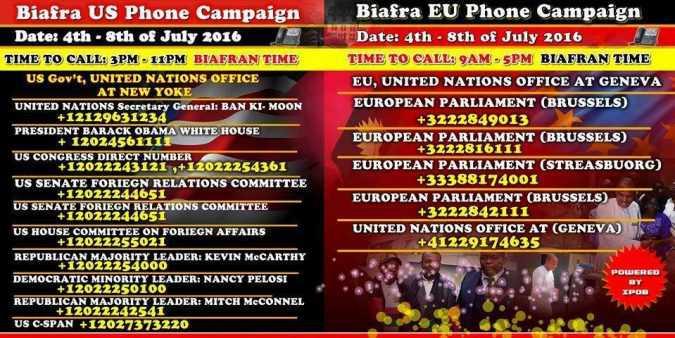 EU phone campaign