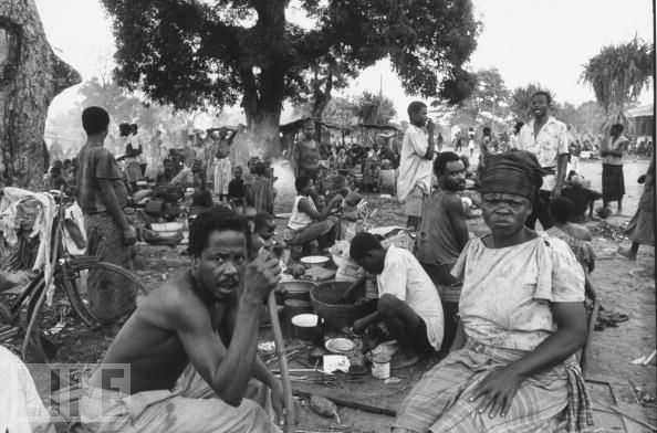 Biafra_Refugee_camp_