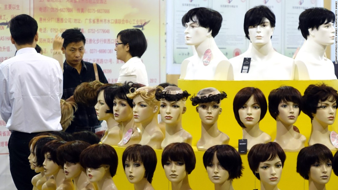 Benin is the leading importer of wigs in Africa, spending $411 million in 2014 on Chinese-made fake hair. The tiny state was also by far the continent's largest buyer of cotton from China, worth $852 million.